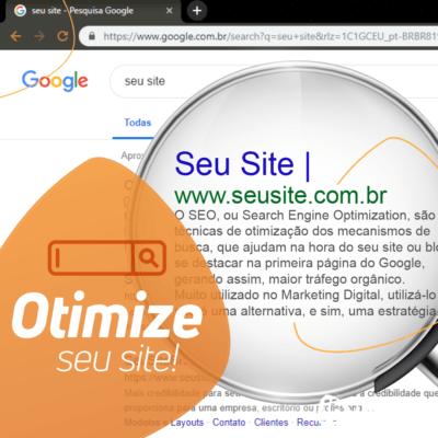 Otimize seu site